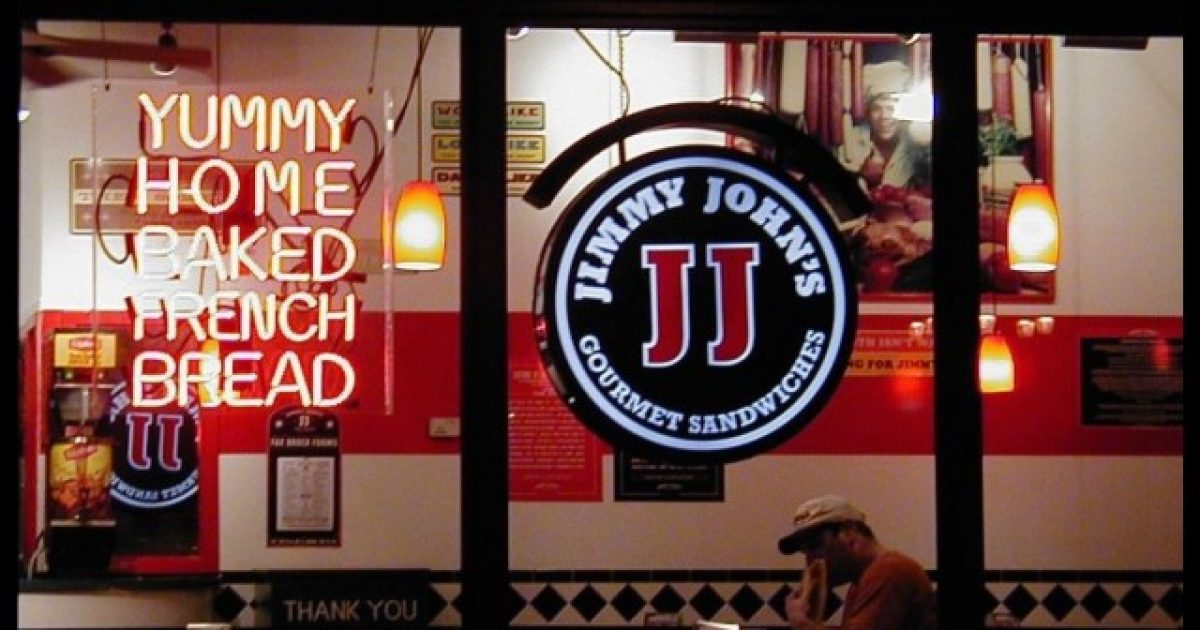 jimmy john u0026 39 s delivery driver gets pulled over by cop