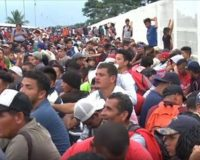 New Migrant Caravan Attacks Mexican Officials When They're Told They Can't Proceed To Border