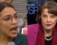 Ocasio-Cortez Fires Back At Feinstein And Says She Is In Charge Now