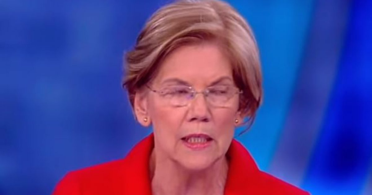 Elizabeth Warren Says She Has ZERO Sympathy For Parents Involved In College Cheating Scandal, Just One Huge Problem
