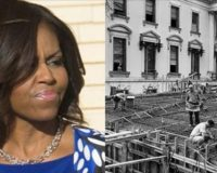 Historians Reveal The FACTS About Michelle's Claim That Slaves Built The White House…