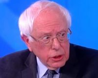 Crazy Bernie Refuses To Answer Simple Question On Mueller Report And It's All Caught On Video