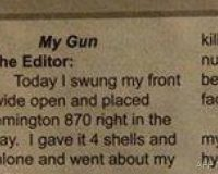 BOOM! Hilarious 'Gun Letter' Goes VIRAL And Liberals Are TICKED