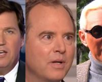 Tucker Carlson Calls Out Adam Schiff And Other Dems, Drops A Roger Stone Announcement