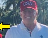 Check Out Who Trump Golfed With Today
