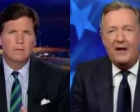 Tucker Carlson Guest Piers Morgan Shreds Into Bernie Sanders And It's Epic