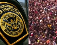Border Patrol Agents Attacked & Injured After Massive Mob Of Illegal Aliens Storm Border