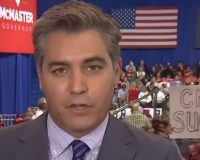 CNN's Jim Acosta Holds First Book Signing, But No One Showed Up