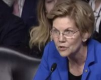 Warren Throws A Temper Tantrum At Senate Hearing After Not Getting Her Way
