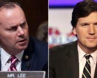 Tucker Carlson Goes On Rampage Against Sen. Mike Lee Live On FOX