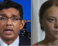 Dinesh D'Souza Attacked For Calling Swedish Climate Teen A Propaganda Tool