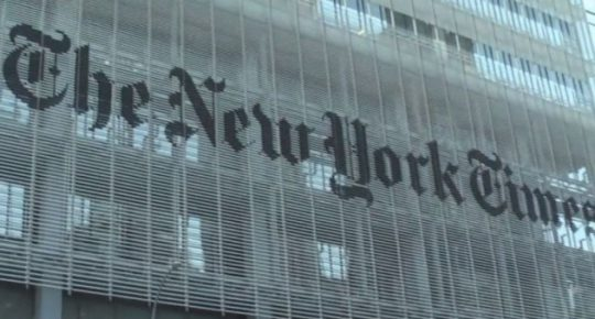 "New York Times Deletes ""Offensive"" Tweet But It's Now Spreading All Over The Internet"
