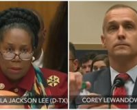 Cory Lewandowski Puts Sheila Jackson Lee in Her Place During 'Impeachment' Hearing [Watch]
