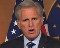 Kevin McCarthy Carpet Bombs California Dems For Creating The Homeless Capital of America (Video)