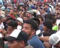 BREAKING: Massive Migrant Caravan Stopped And Turned Around By Mexican National Guard