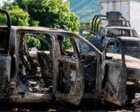 JUST IN: 13 Mexican Police Offers Ambushed And Killed By New Cartel