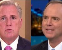 House Leader McCarthy Says Vote To Censure Rep. Adam Schiff Will Take Place Monday