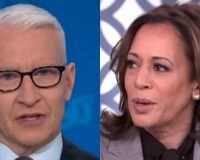 Anderson Cooper Makes Kamala Harris Look Like A Fool After Asking 1 Simple Question She Can't Answer