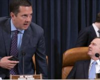 "Nunes Goes For Schiff's Jugular In Impeachment Hearing: ""This Is a Carefully Orchestrated Media Smear Campaign"" Mentions Schiff's Multiple Lies About Russia Hoax"