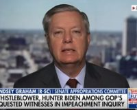 Lindsey Graham Calls Out Dems On Impeachment Live On T.V.