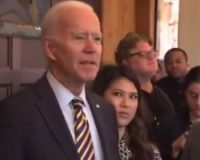 Watch As Biden Freaks Out On Reporter Who Asked About His Son's New Kid