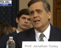 Jonathan Turley Getting Death Threats After Testifying At Impeachment Hearing And Smashing Libs