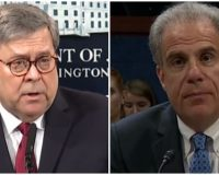 After DoJ IG Finds Clear Abuse Of FISA Process Against Trump, AG Barr Needs To Take Action