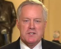 """Mark Meadows Has Some Choice Words For Moderate GOP Senators And It's Brutal, """"Voters Will Make You PAY If You Back Impeachment Witnesses"""""""