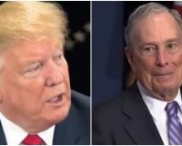 """Trump Suggests Bloomberg Is Engaging In Illegal Campaign Activities And Taking Contributions As """"Payoffs"""" :Report"""