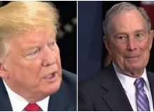 "Trump Suggests Bloomberg Is Engaging In Illegal Campaign Activities And Taking Contributions As ""Payoffs"" :Report"
