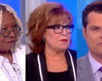 Matt Gaetz Goes On 'The View' Absolutely Destroys Crazy Leftist Ladies In Amazing Video