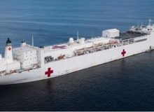 Statement From the White House on the Hospital Ships USNS Comfort and Mercy