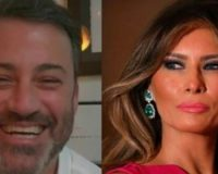 WATCH: Hollywood Leftist, Jimmy Kimmel Mercilessly Mocks Melania In Disgusting Video: Melania Is The 'Inventor of Social Distancing'