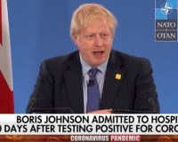 BREAKING: UK Prime Minister, Boris Johnson Hospitalized