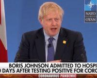 BREAKING: UK Prime Minister, Boris Johnson Hospitalized