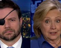 Hillary Clinton Lashes Out At POTUS and Crenshaw Fires One Across Clinton's Bow