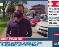 BUSTED! Bystander Makes MSNBC Reporter Admit That The Cameraman Is Not Wearing Mask [VIDEO]
