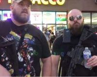 """Heavily Armed Redneck"" Citizens Stand Guard Against Violent Looters In Front Of MN Tobacco Store [Video]"