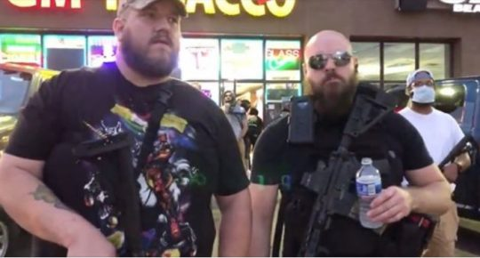 """""""Heavily Armed Redneck"""" Citizens Stand Guard Against Violent Looters In Front Of MN Tobacco Store [Video]"""