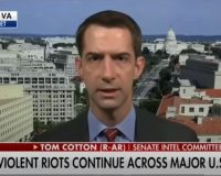 "Sen. Tom Cotton Takes A Blowtorch To Critics Of Trump's Latest Announcement ""Read A Book"""